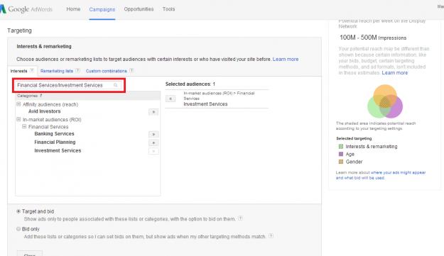 GoogleAdwords管理画面_英語ver